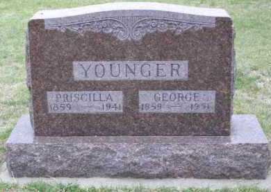 HARRISON YOUNGER, PRISCILLA - Red Willow County, Nebraska   PRISCILLA HARRISON YOUNGER - Nebraska Gravestone Photos