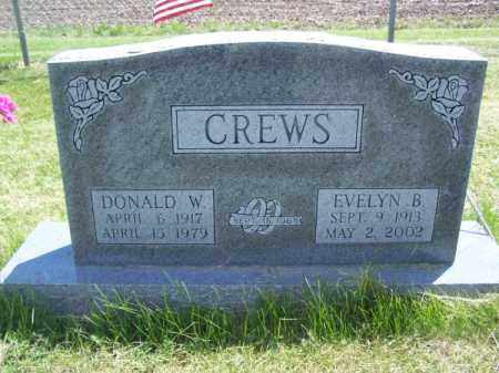 CREWS, EVELYN B. - Richardson County, Nebraska | EVELYN B. CREWS - Nebraska Gravestone Photos