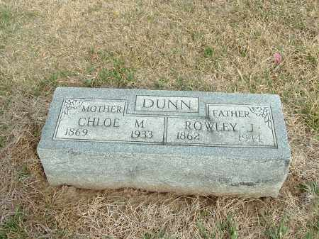 DUNN, CHLOE M. - Richardson County, Nebraska | CHLOE M. DUNN - Nebraska Gravestone Photos