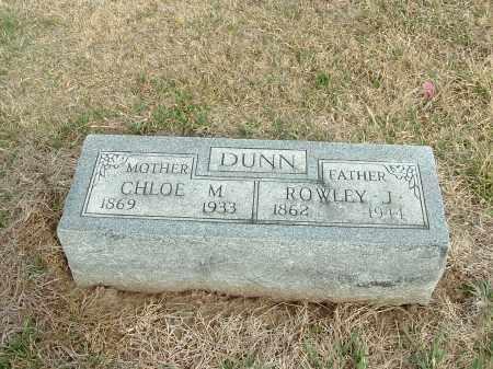 DUNN, CHLOE M. - Richardson County, Nebraska   CHLOE M. DUNN - Nebraska Gravestone Photos