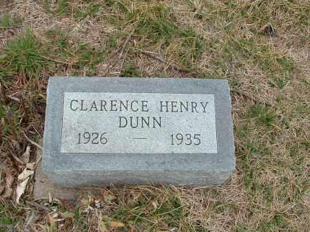 DUNN, CLARENCE HENRY - Richardson County, Nebraska | CLARENCE HENRY DUNN - Nebraska Gravestone Photos
