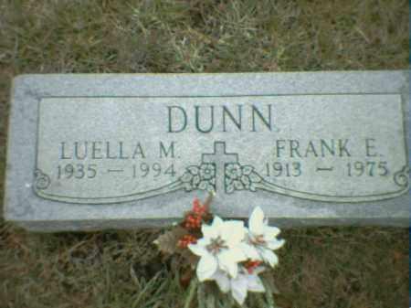 DUNN, LUELLA MAXINE - Richardson County, Nebraska   LUELLA MAXINE DUNN - Nebraska Gravestone Photos