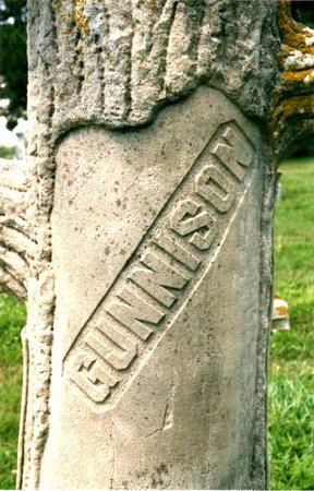 GUNNISON, AQULLA - Richardson County, Nebraska   AQULLA GUNNISON - Nebraska Gravestone Photos