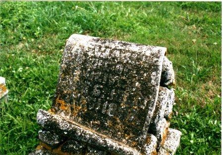 LOCKE OLIVER, EVIE M. - Richardson County, Nebraska | EVIE M. LOCKE OLIVER - Nebraska Gravestone Photos