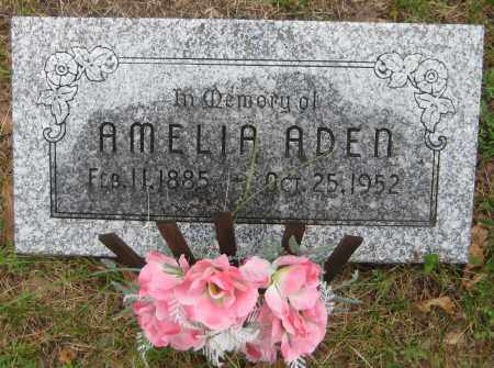 ADEN, AMELIA - Saline County, Nebraska | AMELIA ADEN - Nebraska Gravestone Photos