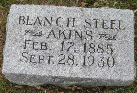 AKINS, BLANCH - Saline County, Nebraska | BLANCH AKINS - Nebraska Gravestone Photos