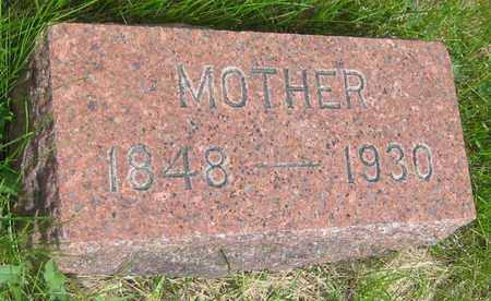 AKSAMIT, ANNA - Saline County, Nebraska   ANNA AKSAMIT - Nebraska Gravestone Photos
