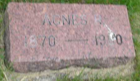 AKSAMIT, AGNES ROSALIE - Saline County, Nebraska | AGNES ROSALIE AKSAMIT - Nebraska Gravestone Photos