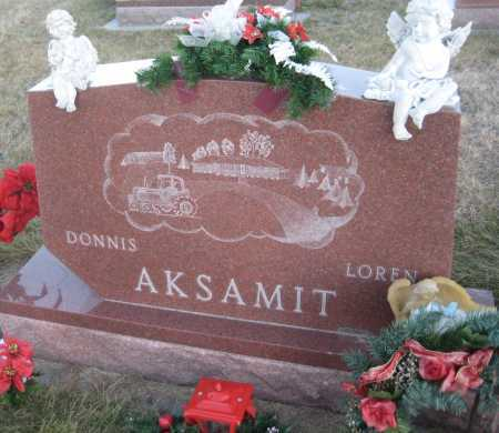 AKSAMIT, DONNIS - Saline County, Nebraska | DONNIS AKSAMIT - Nebraska Gravestone Photos