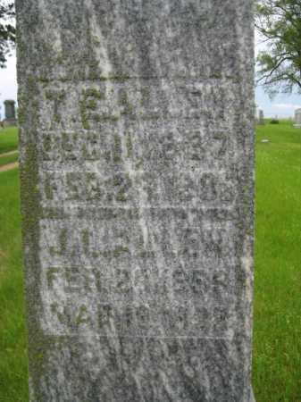 ALLEN, T. E. - Saline County, Nebraska   T. E. ALLEN - Nebraska Gravestone Photos