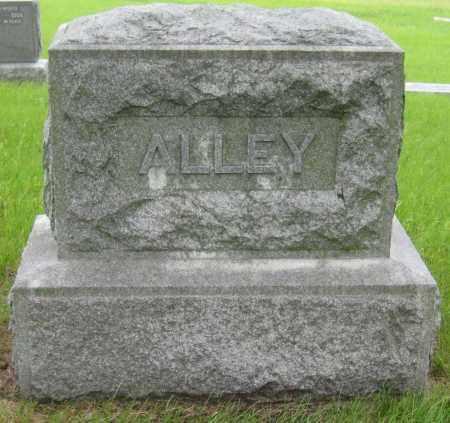 ALLEY, FAMILY STONE - Saline County, Nebraska   FAMILY STONE ALLEY - Nebraska Gravestone Photos