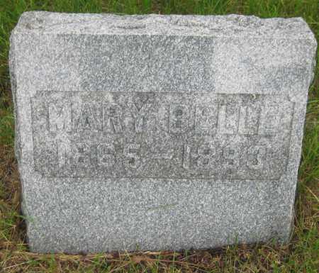 ALLEY, MARY BELLE - Saline County, Nebraska | MARY BELLE ALLEY - Nebraska Gravestone Photos
