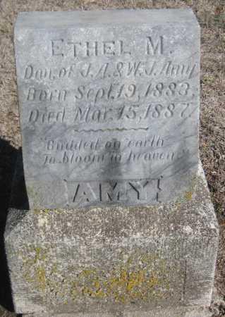 AMY, ETHEL M. - Saline County, Nebraska | ETHEL M. AMY - Nebraska Gravestone Photos