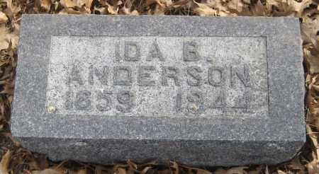 ANDERSON, IDA B. - Saline County, Nebraska | IDA B. ANDERSON - Nebraska Gravestone Photos