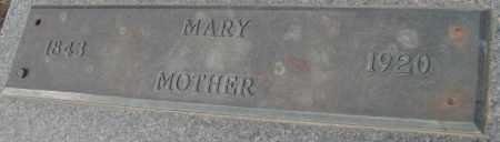 ANKNEY, MARY - Saline County, Nebraska | MARY ANKNEY - Nebraska Gravestone Photos