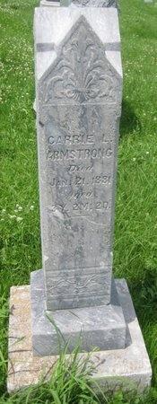 ARMSTRONG, CARRIE L. - Saline County, Nebraska | CARRIE L. ARMSTRONG - Nebraska Gravestone Photos