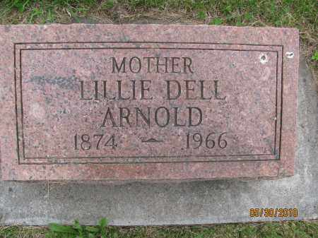 ARNOLD, LILLIE DELL - Saline County, Nebraska | LILLIE DELL ARNOLD - Nebraska Gravestone Photos