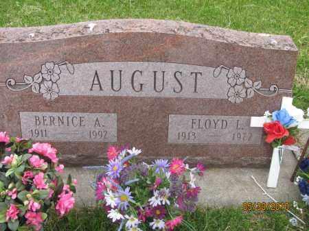 AITKEN AUGUST, BERNICE A. - Saline County, Nebraska   BERNICE A. AITKEN AUGUST - Nebraska Gravestone Photos