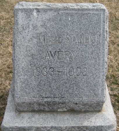 AVERY, MRS D. - Saline County, Nebraska | MRS D. AVERY - Nebraska Gravestone Photos
