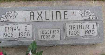 AXLINE, MARY EDITH - Saline County, Nebraska | MARY EDITH AXLINE - Nebraska Gravestone Photos