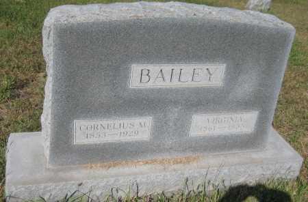 BAILEY, VIRGINIA - Saline County, Nebraska   VIRGINIA BAILEY - Nebraska Gravestone Photos