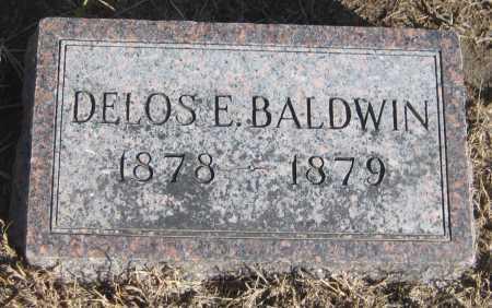 BALDWIN, DELOS E. - Saline County, Nebraska   DELOS E. BALDWIN - Nebraska Gravestone Photos