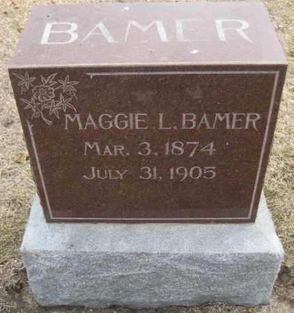 BAMER, MAGGIE L. - Saline County, Nebraska | MAGGIE L. BAMER - Nebraska Gravestone Photos