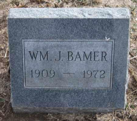 BAMER, WILLIAM J. - Saline County, Nebraska   WILLIAM J. BAMER - Nebraska Gravestone Photos