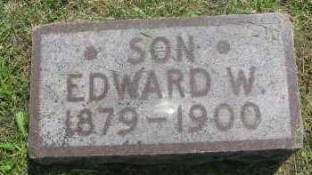 BANKSON, EDWARD WALTER - Saline County, Nebraska | EDWARD WALTER BANKSON - Nebraska Gravestone Photos