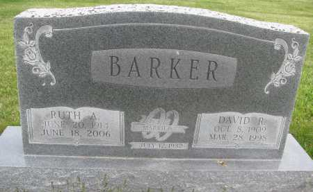BARKER, DAVID ROY - Saline County, Nebraska | DAVID ROY BARKER - Nebraska Gravestone Photos