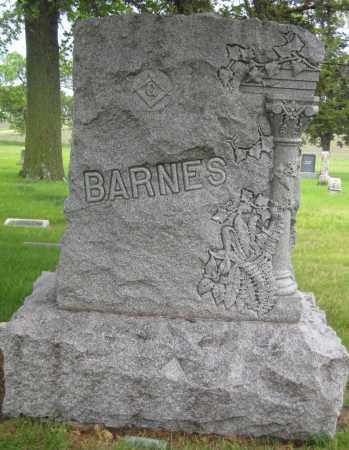 BARNES, FAMILY STONE - Saline County, Nebraska | FAMILY STONE BARNES - Nebraska Gravestone Photos