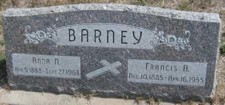 BARNEY, ANNA N. - Saline County, Nebraska | ANNA N. BARNEY - Nebraska Gravestone Photos