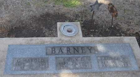 BARNEY, G. HAROLD - Saline County, Nebraska | G. HAROLD BARNEY - Nebraska Gravestone Photos