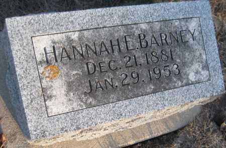 BARNEY, HANNAH E. - Saline County, Nebraska | HANNAH E. BARNEY - Nebraska Gravestone Photos