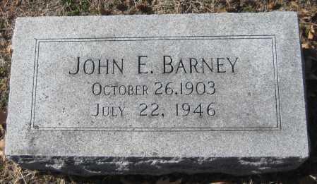 BARNEY, JOHN E. - Saline County, Nebraska | JOHN E. BARNEY - Nebraska Gravestone Photos