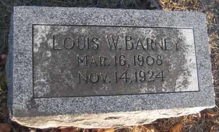 BARNEY, LOUIS W. - Saline County, Nebraska | LOUIS W. BARNEY - Nebraska Gravestone Photos