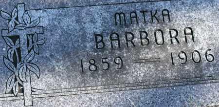 BARTA, BARBORA - Saline County, Nebraska   BARBORA BARTA - Nebraska Gravestone Photos
