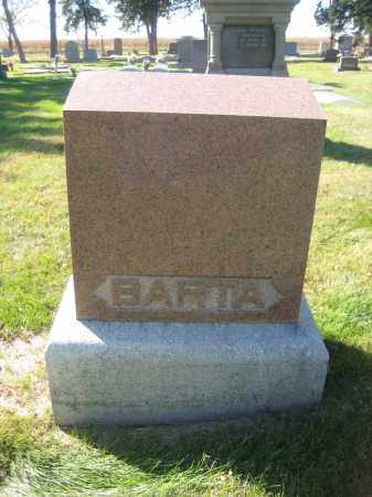 BARTA, FAMILY MONUMENT - Saline County, Nebraska | FAMILY MONUMENT BARTA - Nebraska Gravestone Photos