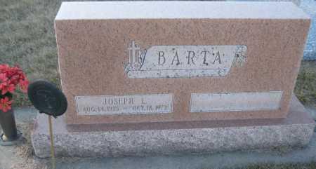 BARTA, JOSEPH L. - Saline County, Nebraska | JOSEPH L. BARTA - Nebraska Gravestone Photos