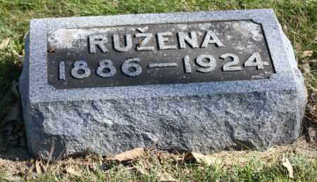 BARTA, RUZENA - Saline County, Nebraska | RUZENA BARTA - Nebraska Gravestone Photos