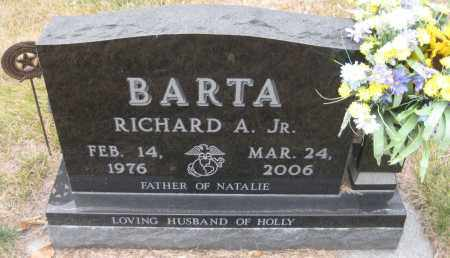 BARTA, RICHARD A. JR. - Saline County, Nebraska | RICHARD A. JR. BARTA - Nebraska Gravestone Photos