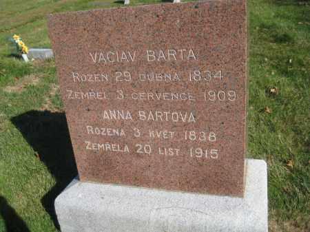 BARTA, ANNA - Saline County, Nebraska | ANNA BARTA - Nebraska Gravestone Photos