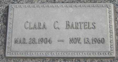 BARTELS, CLARA C. - Saline County, Nebraska | CLARA C. BARTELS - Nebraska Gravestone Photos