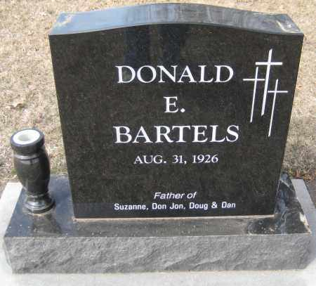 BARTELS, DONALD E. - Saline County, Nebraska | DONALD E. BARTELS - Nebraska Gravestone Photos