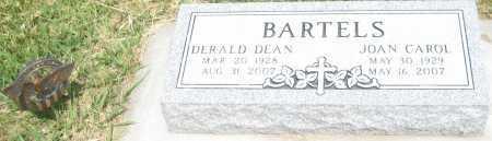 BARTELS, DERALD DEAN - Saline County, Nebraska | DERALD DEAN BARTELS - Nebraska Gravestone Photos