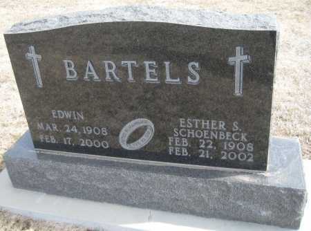 BARTELS, ESTHER S. - Saline County, Nebraska | ESTHER S. BARTELS - Nebraska Gravestone Photos