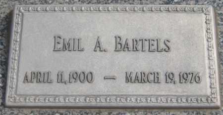 BARTELS, EMIL AUGUST - Saline County, Nebraska   EMIL AUGUST BARTELS - Nebraska Gravestone Photos