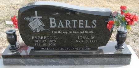 BARTELS, IONA MAE - Saline County, Nebraska | IONA MAE BARTELS - Nebraska Gravestone Photos