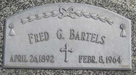BARTELS, FRED G. - Saline County, Nebraska | FRED G. BARTELS - Nebraska Gravestone Photos