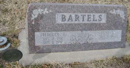 BARTELS, IRENE LUCILLE - Saline County, Nebraska | IRENE LUCILLE BARTELS - Nebraska Gravestone Photos